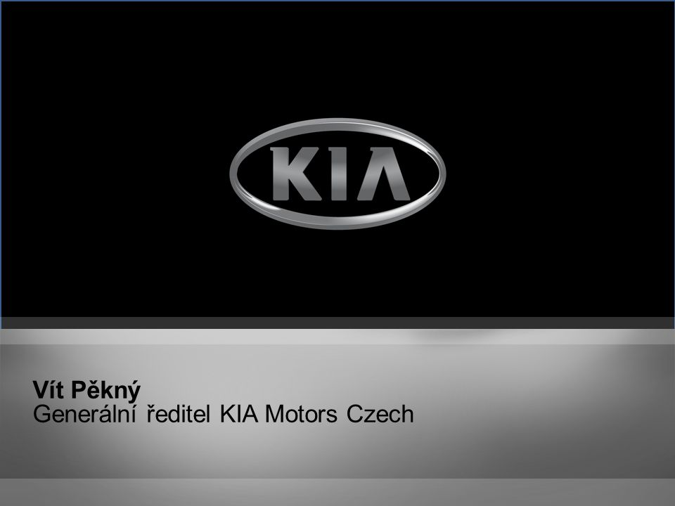 Arnošt Barna Marketingový a obchodní ředitel KIA Motors Czech