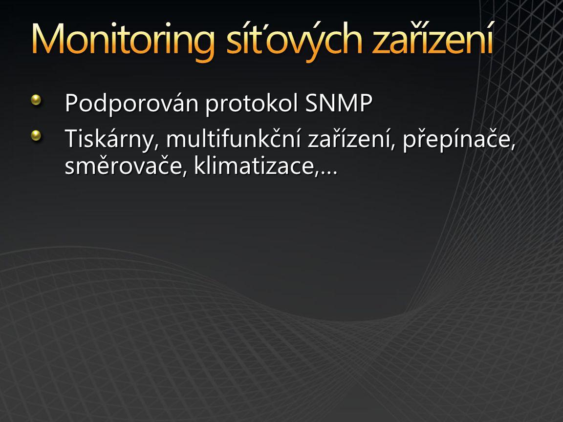 Monitorovaní klienti Monitorované servery Audit DB Audit Collector Archiv