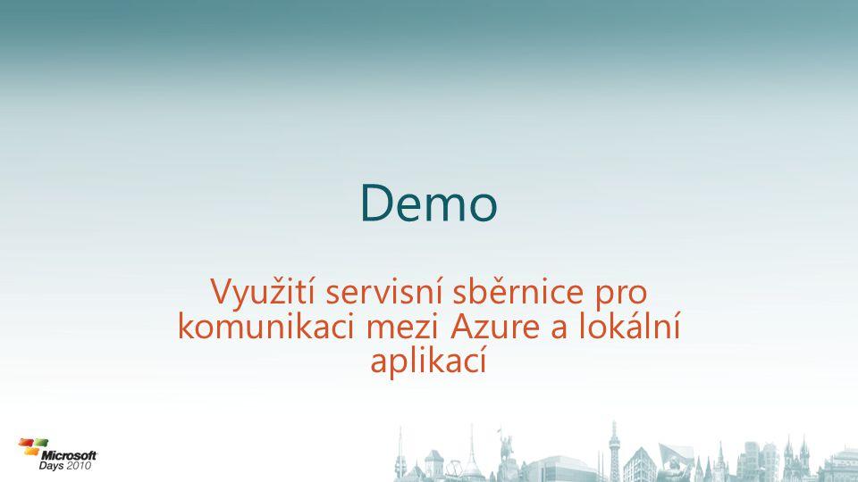 Demo Využití servisní sběrnice pro komunikaci mezi Azure a lokální aplikací
