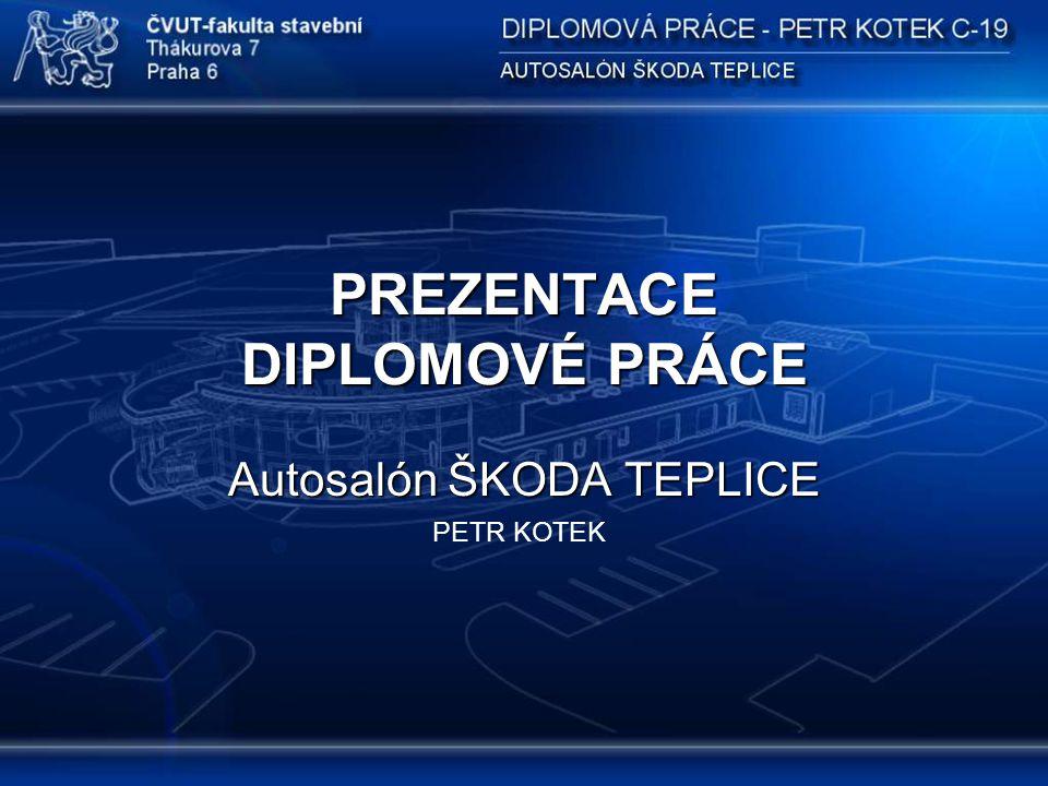 PREZENTACE DIPLOMOVÉ PRÁCE Autosalón ŠKODA TEPLICE PETR KOTEK