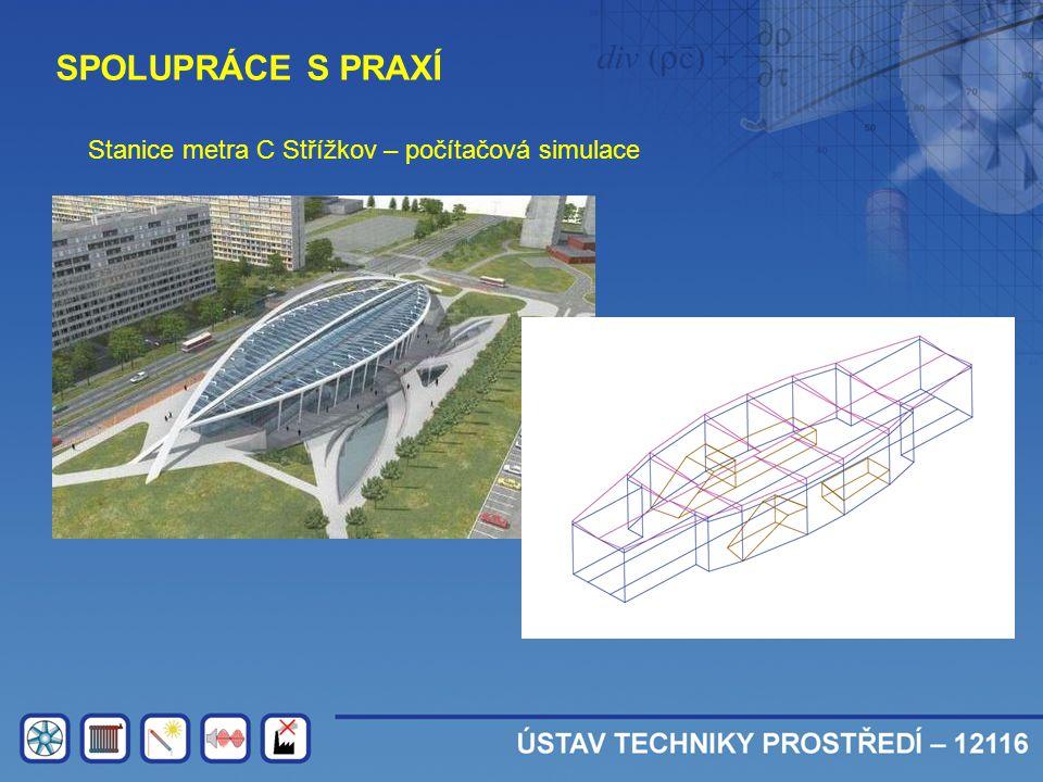 SPOLUPRÁCE S PRAXÍ Stanice metra C Střížkov – počítačová simulace