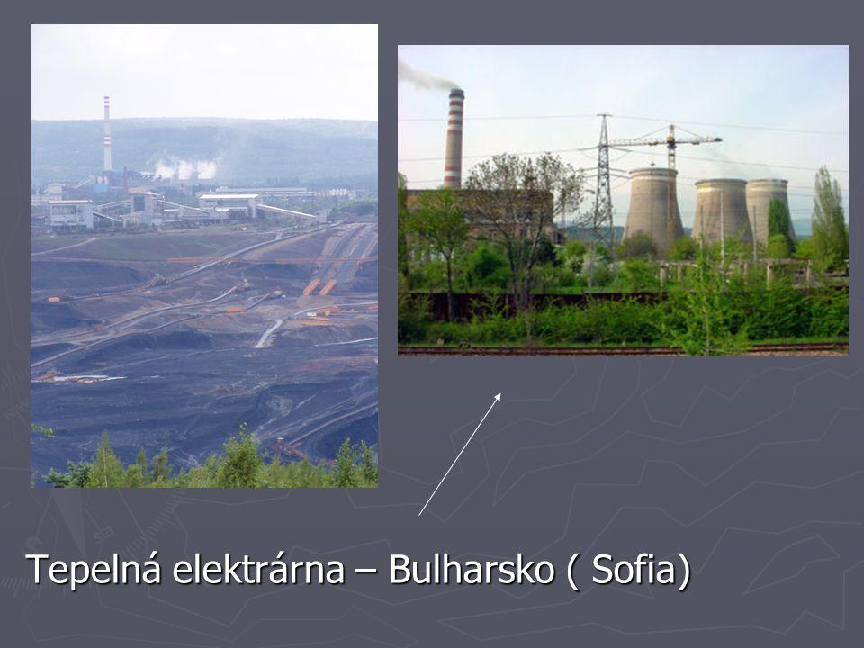 Tepelná elektrárna – Bulharsko ( Sofia)