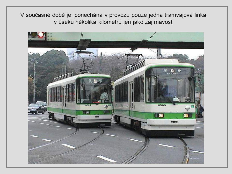V letech 1967 až 1972 bylo zrušeno 181 km tramvajových kolejí