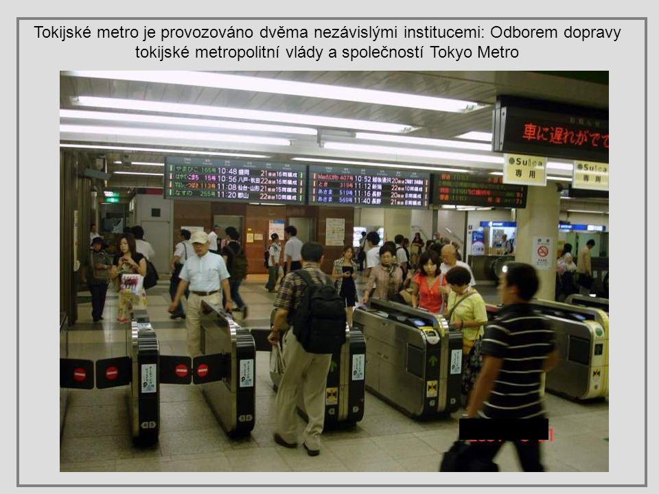 Dopravní špička ve stanici Ueno