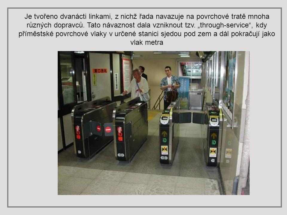 Tokijské metro je provozováno dvěma nezávislými institucemi: Odborem dopravy tokijské metropolitní vlády a společností Tokyo Metro