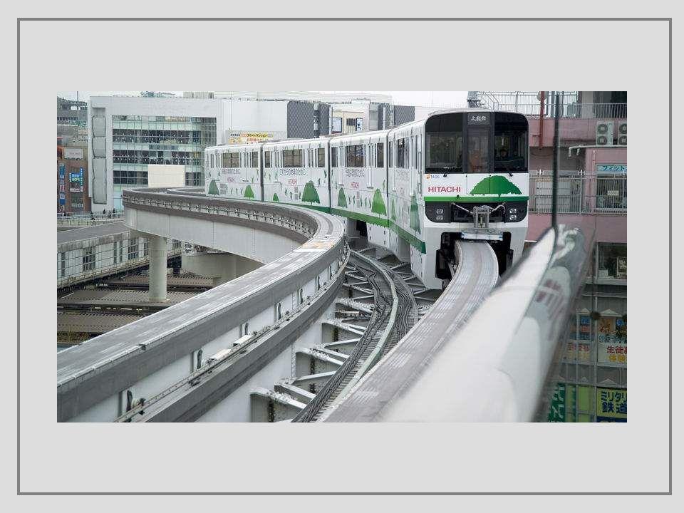 Je to speciální druh železniční infrastruktury, který užívá pro vedení a nesení vozidel jen jedné kolejnice