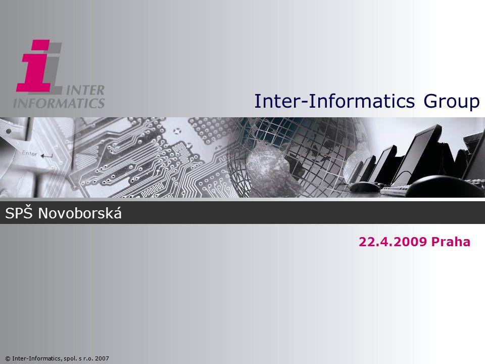 Obsah prezentace » Skupina Inter-Informatics (Petra Jelínková, Personnel Director) » Pracovní příležitosti (Petra Jelínková, Personnel Director) » Projekty a reference (Ondřej Lišťanský, Head of ESD)