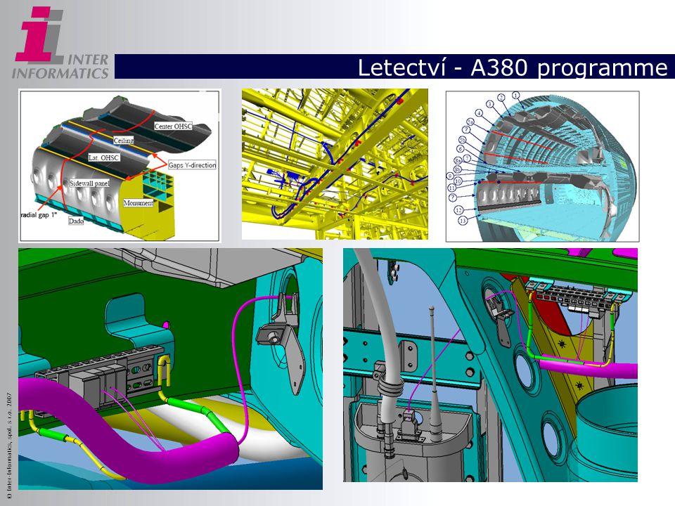 © Inter-Informatics, spol. s r.o. 2007 Letectví - A380 programme