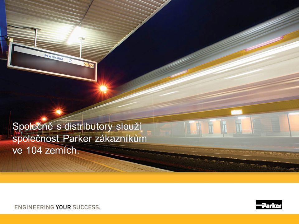 Společně s distributory slouží společnost Parker zákazníkům ve 104 zemích.