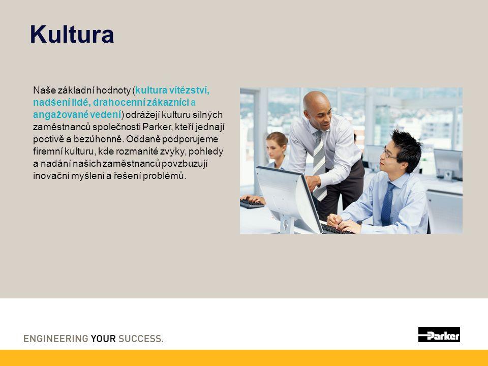 Kultura Naše základní hodnoty (kultura vítězství, nadšení lidé, drahocenní zákazníci a angažované vedení) odrážejí kulturu silných zaměstnanců společn