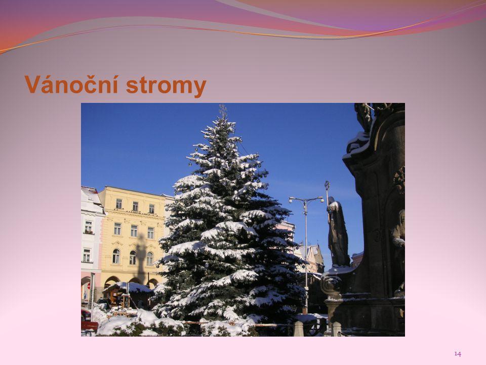 Vánoční stromy 14