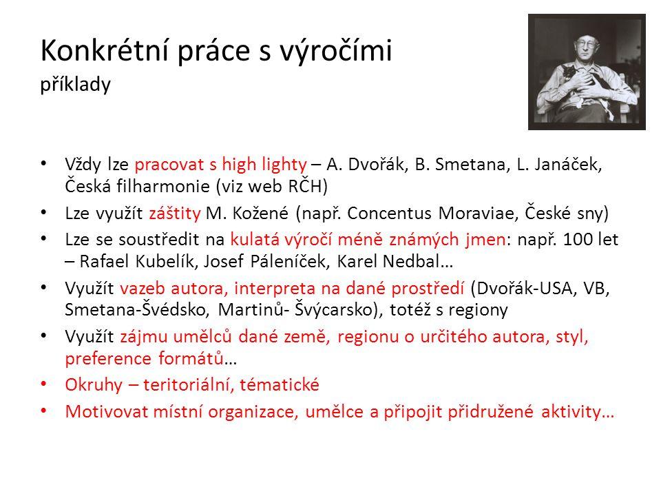 Konkrétní práce s výročími příklady • Vždy lze pracovat s high lighty – A.
