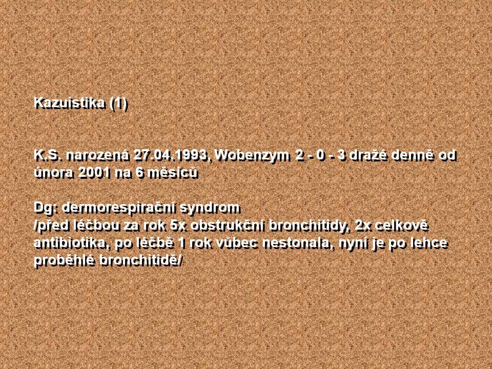 Kazuistika (1) K.S.