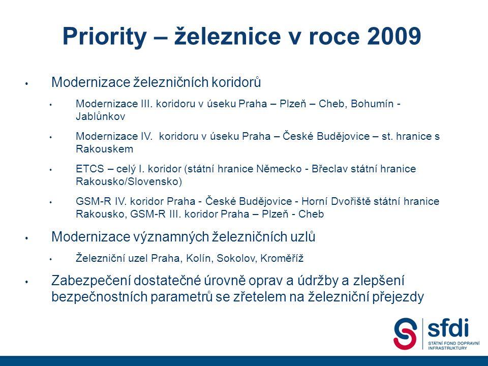 Vývoj výdajů v letech 2005 - 2011 dle rozpočtu SFDI údaje v tis. Kč