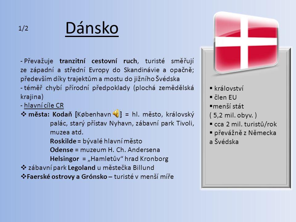 Dánsko - seznam UNESCO: např.