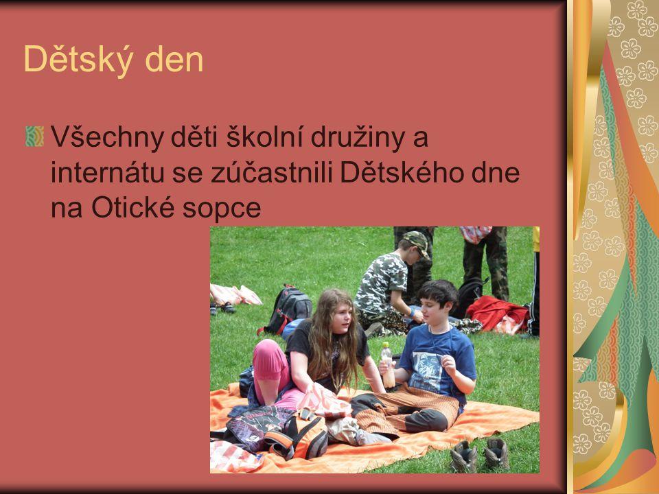 Akce v červnu 2012 Dětský den na Otické sopce Projekt Masarykovy střední zemědělské školy a vyšší odborné školy na farmě