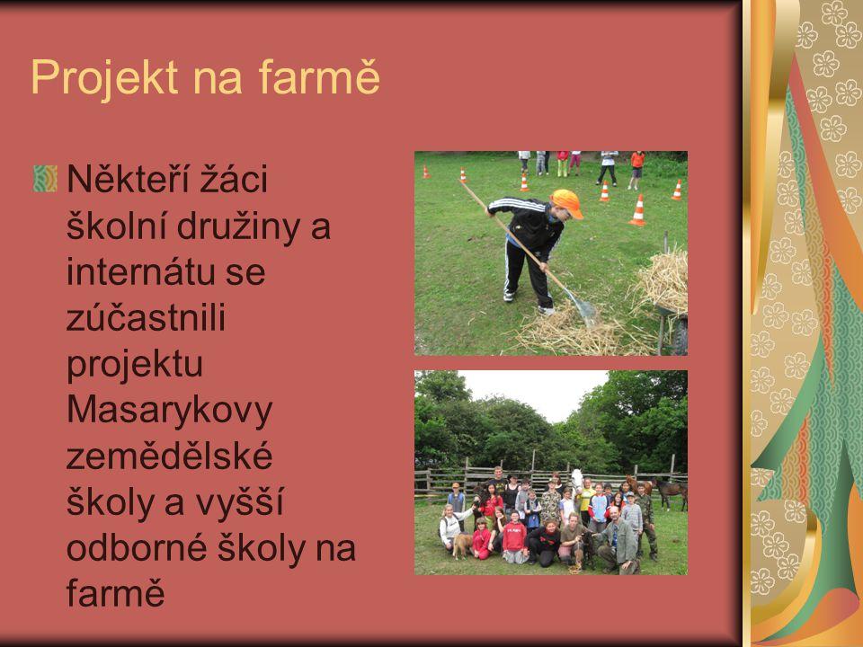 Dětský den Všechny děti školní družiny a internátu se zúčastnili Dětského dne na Otické sopce