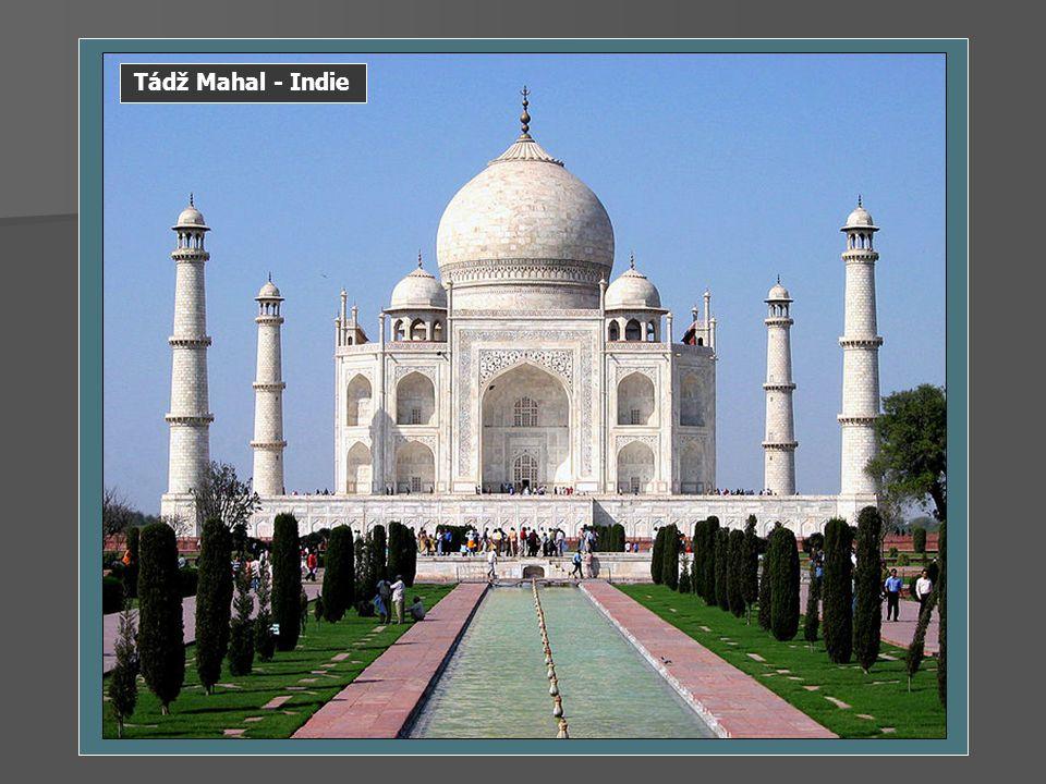 Tádž Mahal - Indie