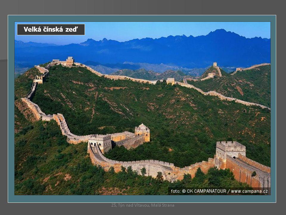Velká čínská zeď ZŠ, Týn nad Vltavou, Malá Strana