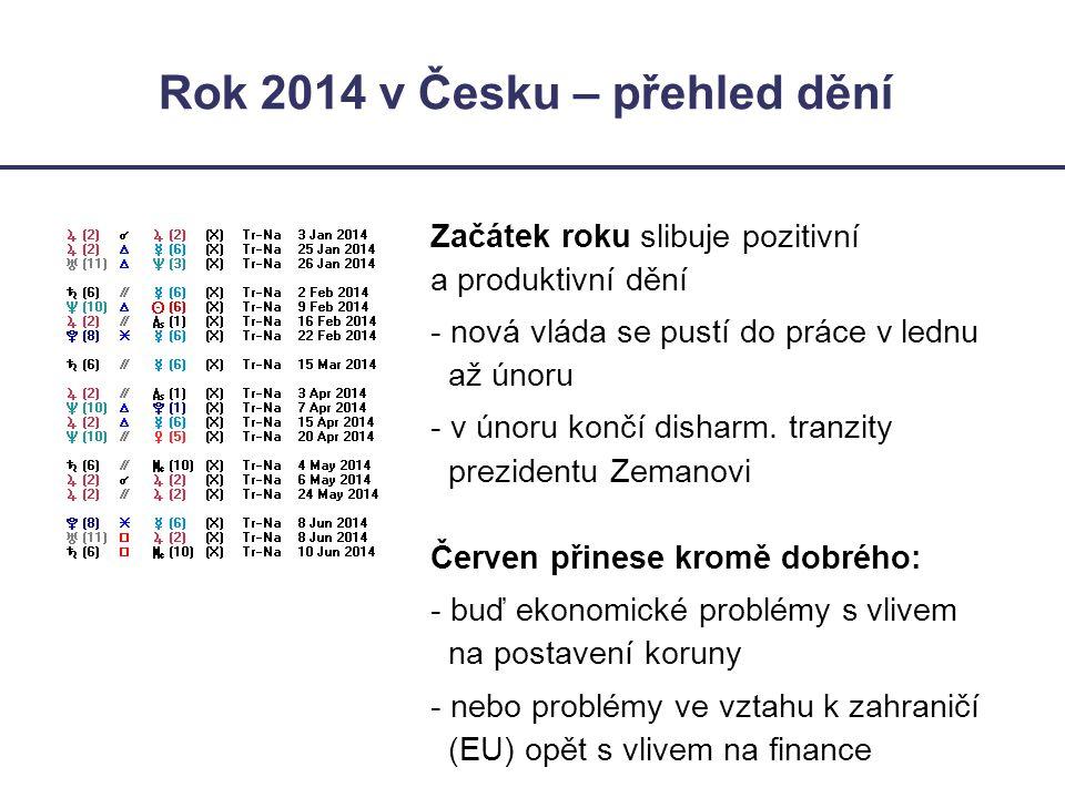 Rok 2014 v Česku – přehled dění Začátek roku slibuje pozitivní a produktivní dění - nová vláda se pustí do práce v lednu až únoru - v únoru končí dish