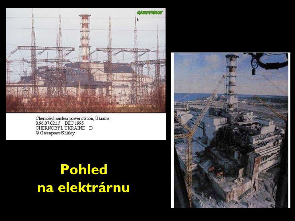 Pohled na elektrárnu
