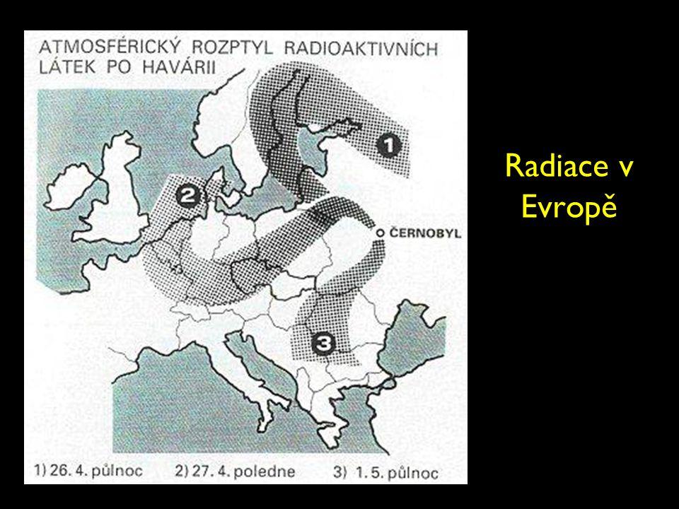Radiace v Evropě
