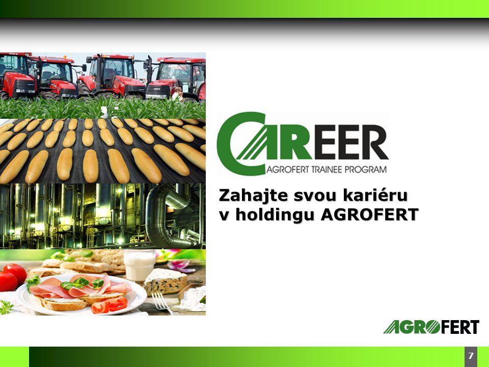 DyStar – Aliachem meeting 7 Zahajte svou kariéru v holdingu AGROFERT