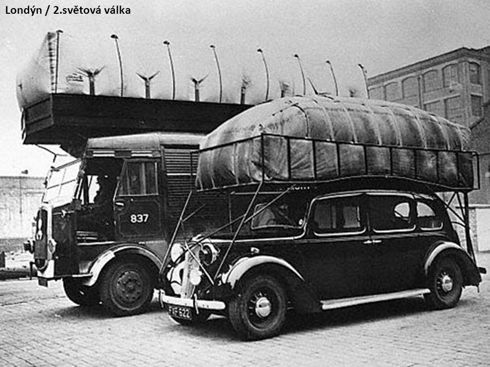 Autobus Praga TO na nestlačený svítiplyn / 1944-45