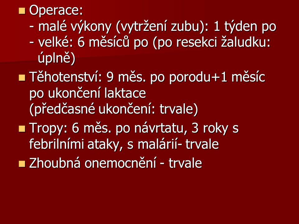Akutní - imunologické  Akutní hemolytická  Febrilní nehemolytická  Anafylaktická  Alergická  Plicní edém nekardiálního původu (erytrocytární inkompatibilita, dárcovské leuko složky)