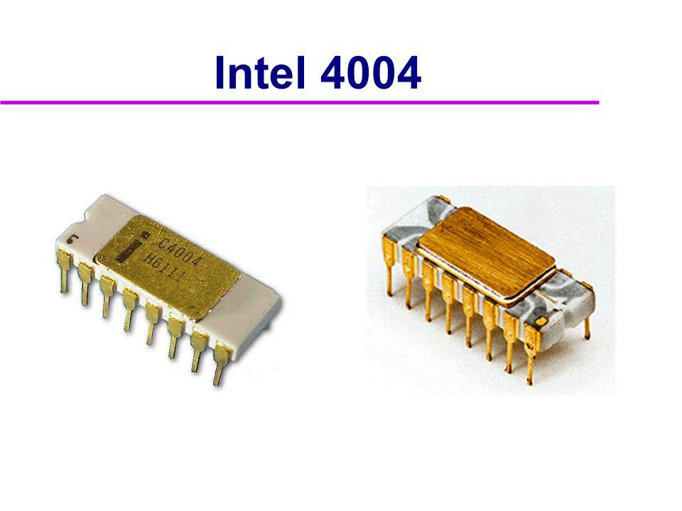Vývoj procesorů Intel  Rok 1997 Pentium II •modifikované jádro z P6 •obsahuje MMX instrukce •modely  Klamath (7.května 1997) -technologie 350nm -frekvence až 300MHz(FSB 66MHz)  Tonga (7.června 1997) -technologie 250nm -snížené napájení na 1,6V  Deschutes (26.ledna 1998) -frekvence až 450MHz(FSB 100MHz)  Dixon (25.ledna 1999) -frekvence až 500MHz -snížené napájení na 1,5V