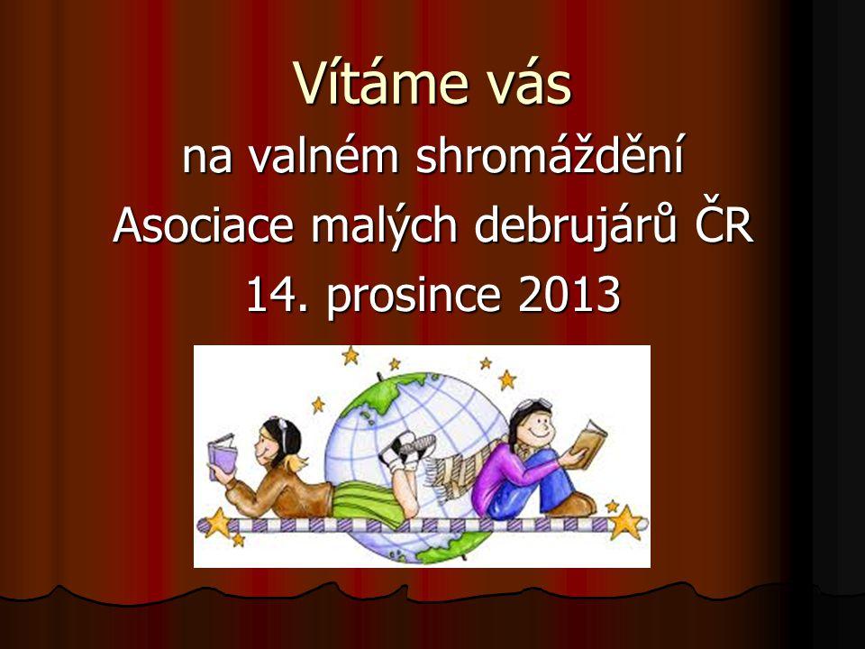 Předání ocenění AMD ČR za rok 2013 Putovní pohár čestného prezidenta doc.