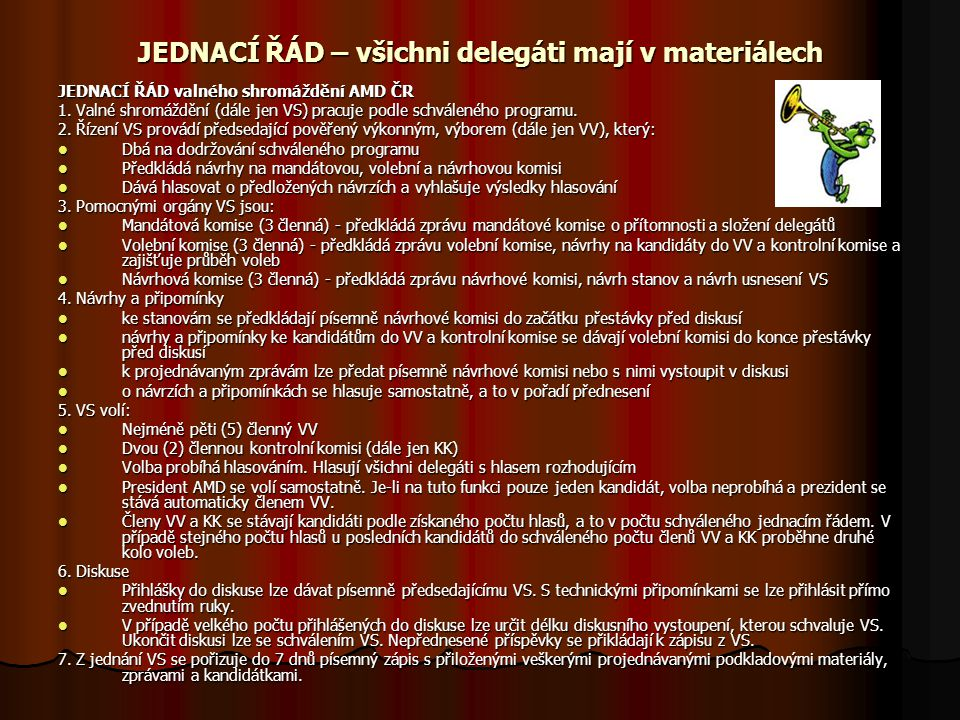 """Výroční zpráva 2013 viz """"Výroční zpráva 2013 a komentáře - Zpráva o činnosti AMD ČR za rok 2013 (Zapletal a gestoři projektů) - Návrh plánu činnosti na rok 2014 (úvodní slovo Zapletal) (úvodní slovo Zapletal) - Zpráva o hospodaření a revizní činnosti za rok 2012 (Rouhová, Rešková)."""