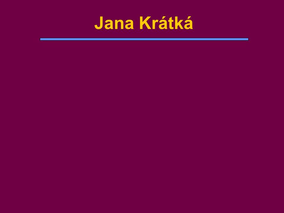Jana Krátká
