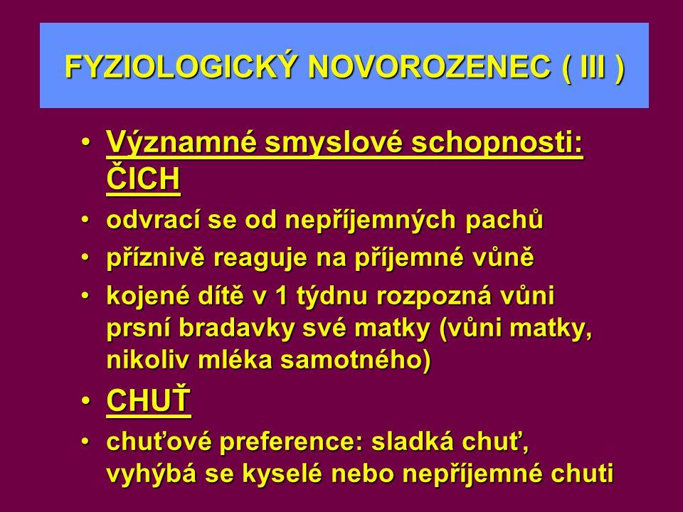 kortizol T 3, T 4 Dětské růstové období (I) IGF-I Buněčná proliferace a diferenciace Proteoanabolismus Růst Speciální buněčné funkce Proteoenergetická malnutrice Hypoxie Acidóza Chronický zánět GH CNS