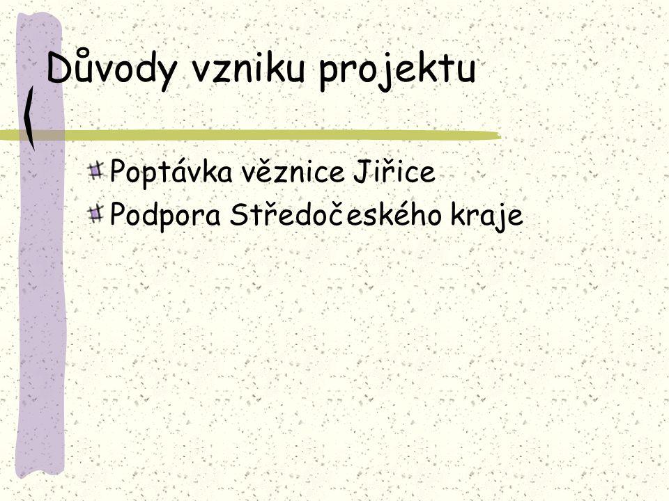 Důvody vzniku projektu Poptávka věznice Jiřice Podpora Středočeského kraje