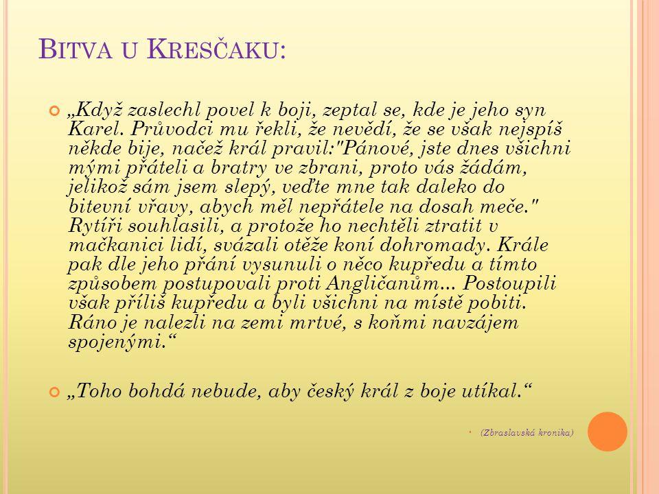 D OMNĚLÁ PODOBA J ANA L UCEMBURSKÉHO (1296–1346):