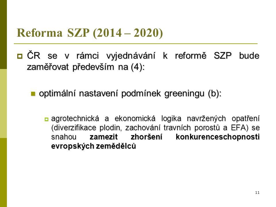 """Principy nastavení plateb v kontextu řešení problémů živočišné výroby a citlivých sektorů  priorita MZe – řešení situace citlivých sektorů, s důrazem na ŽV (především přežvýkavce)  připraven materiál s názvem """"Principy nastavení podpor v období po roce 2013 v souvislosti s reformou Společné zemědělské politiky , který byl poradou ministra (PM) schválen dne 30.10."""