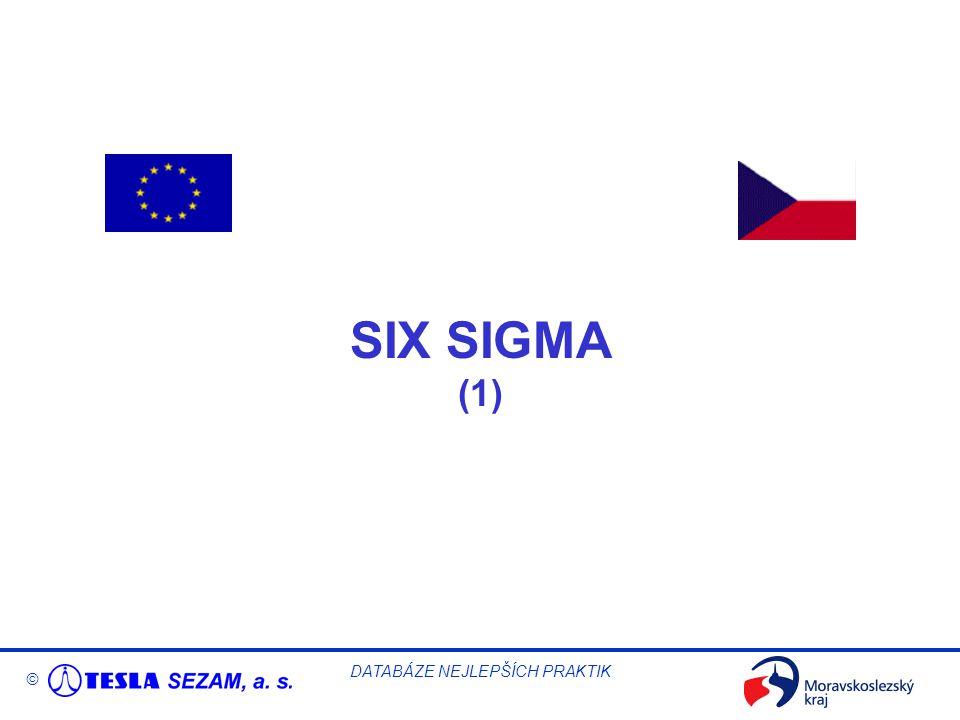 © DATABÁZE NEJLEPŠÍCH PRAKTIK SIX SIGMA (1)