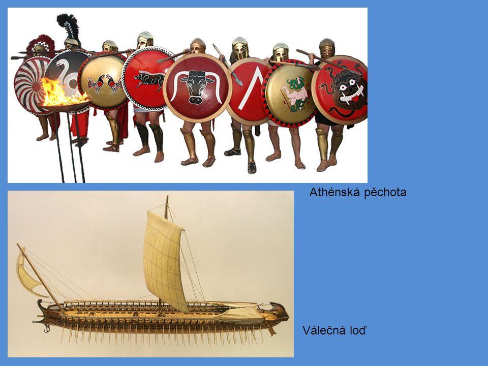 Válečná loď Athénská pěchota