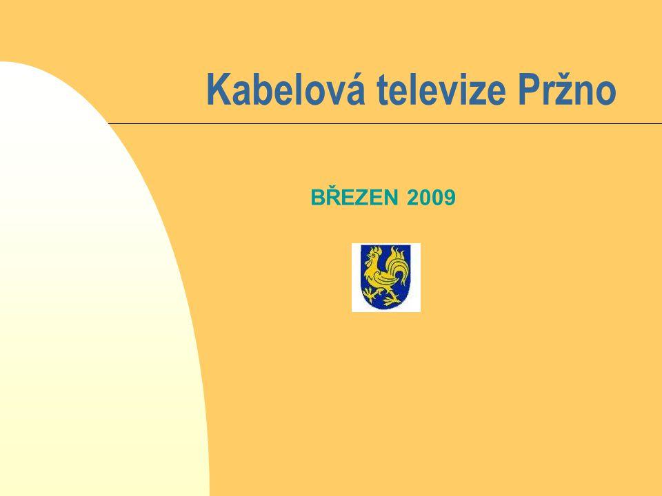 Kabelová televize Pržno BŘEZEN 2009