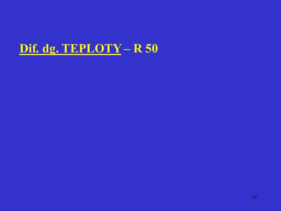 39 Dif. dg. TEPLOTY – R 50