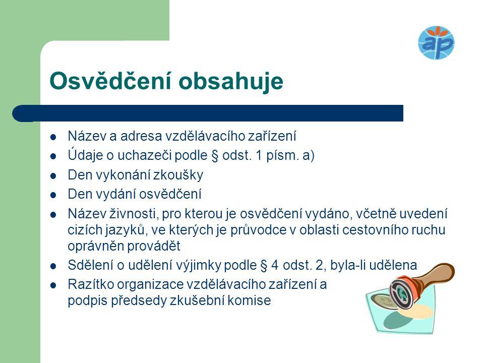 Časté chyby  Živnostenský zákon č.