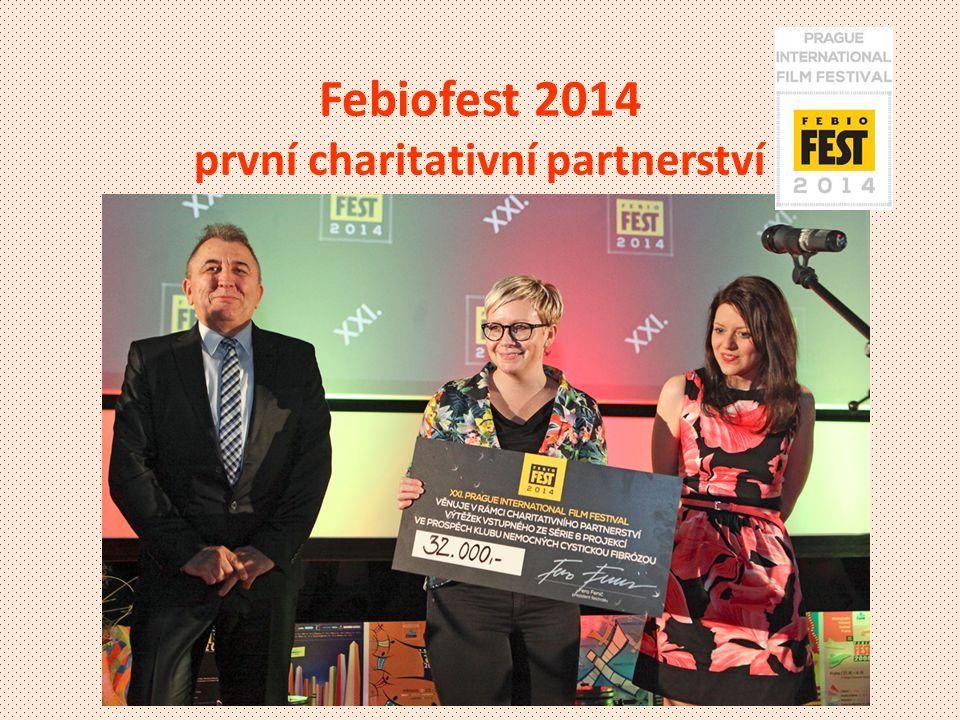 Febiofest 2014 první charitativní partnerství