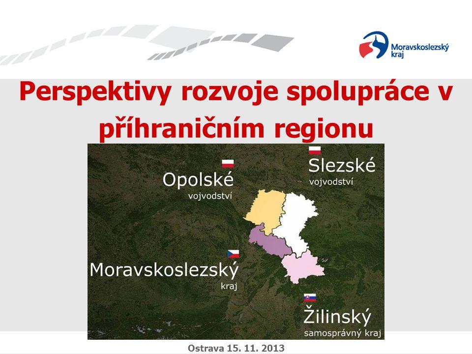Zavedli jsme systém environmentálního řízení a auditu Perspektivy rozvoje spolupráce v příhraničním regionu Ostrava 15.