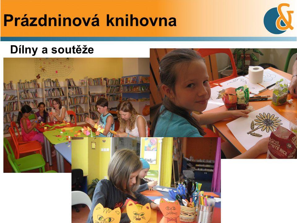 Prázdninová knihovna Dílny a soutěže