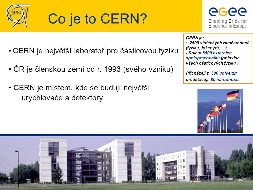 CESNET EGEE II seminář, 12.12.2006 - 15 LCG/EGEE Grid – současný stav
