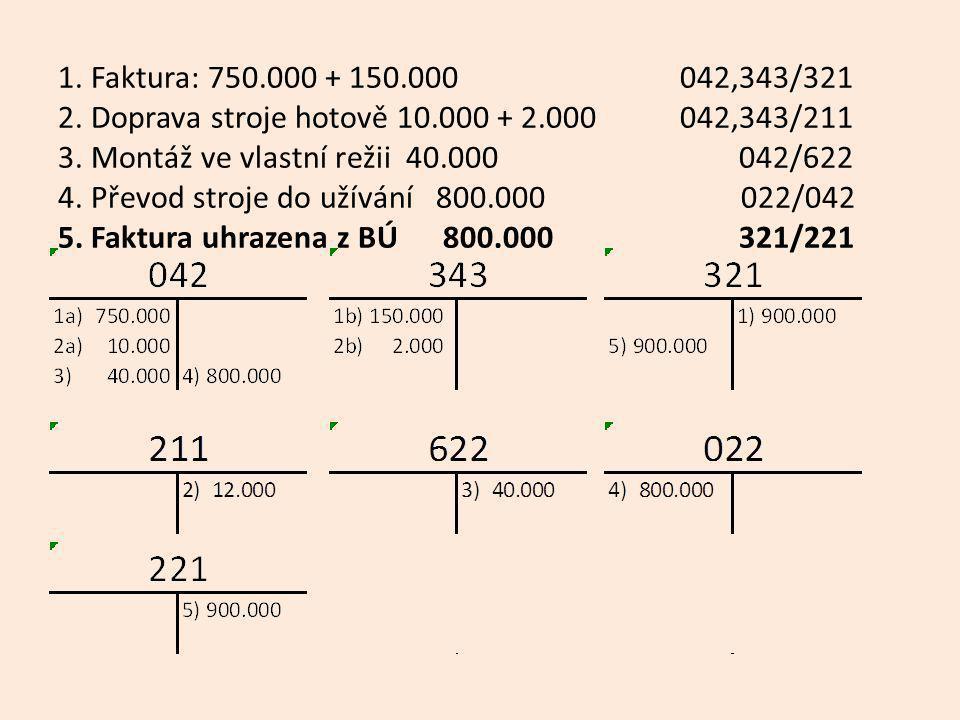 1.Faktura za auto 190.000 + 38.000 042,343/321 2.