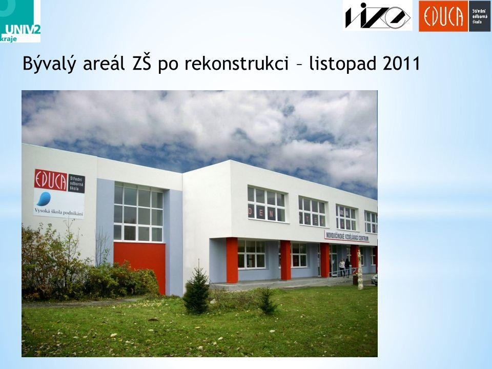 18 Bývalý areál ZŠ po rekonstrukci – listopad 2011
