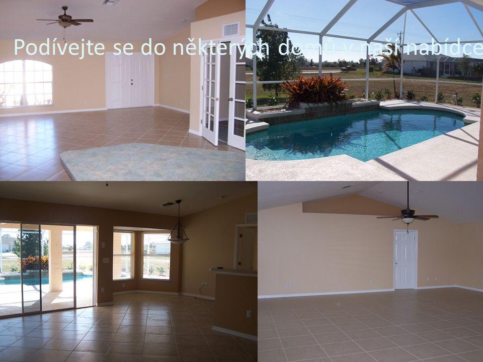 Podívejte se do některých domů v naší nabídce