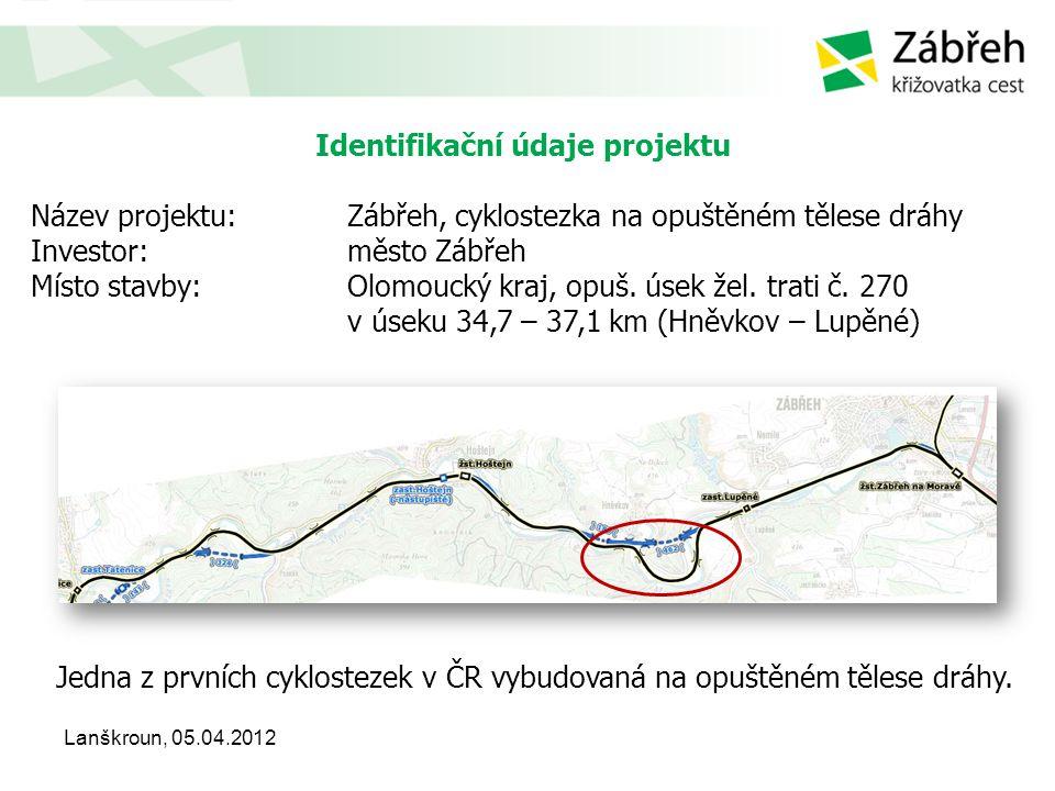 Spojitost s významnými trasami regionálního charakteru • součást regionální cyklotrasy č.